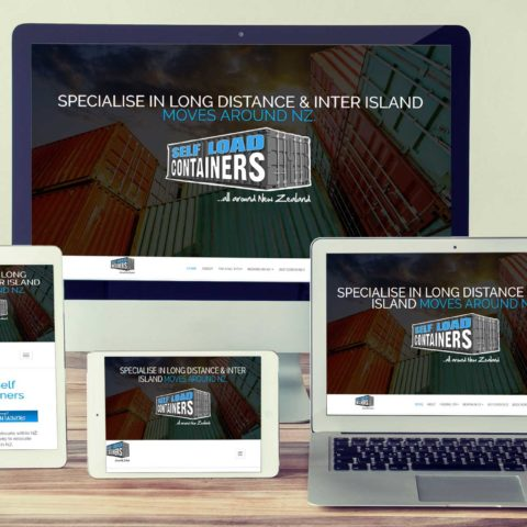 Self Load Containers website